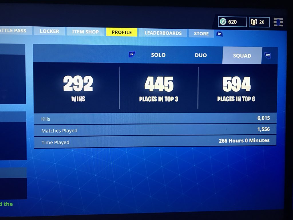 5 replies 0 retweets 7 likes - fortnite ps4 stats not working