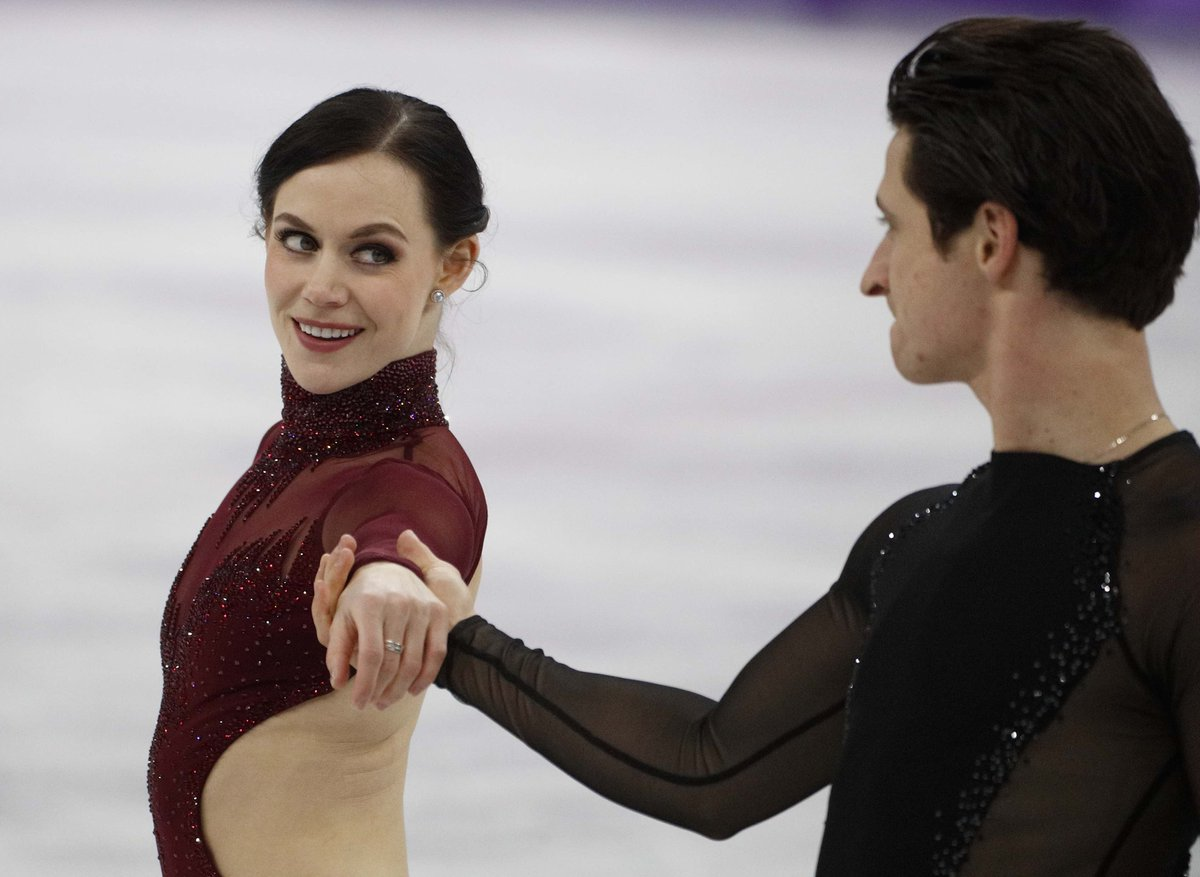 'Come what may...'  @tessavirtue & @ScottMoir are up next!  #UpWithCBC https://t.co/2quTmfzcvF