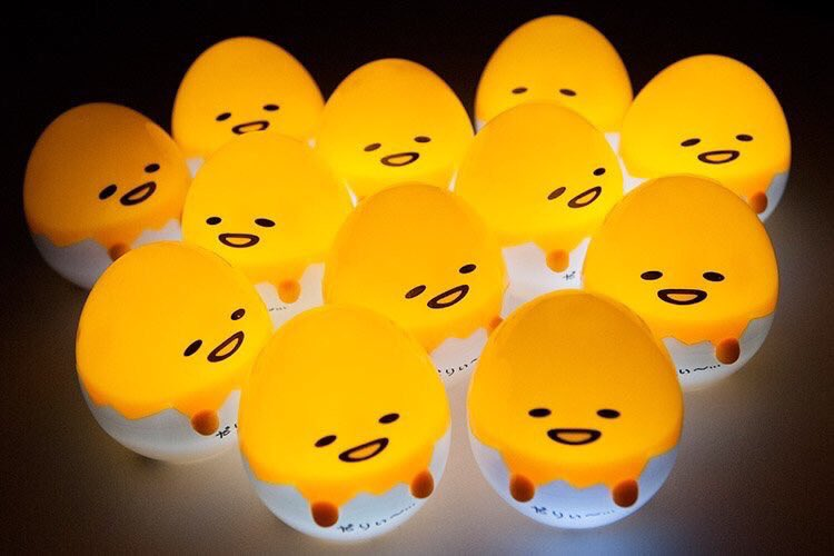 โคมไฟไข่กุเดทามะ 🔆 ขนาดประมาณ 3 นิ้วนิดๆ...