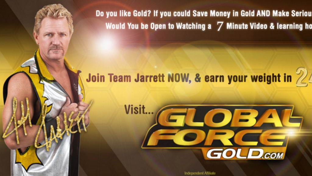Image result for jeff jarrett global force gold