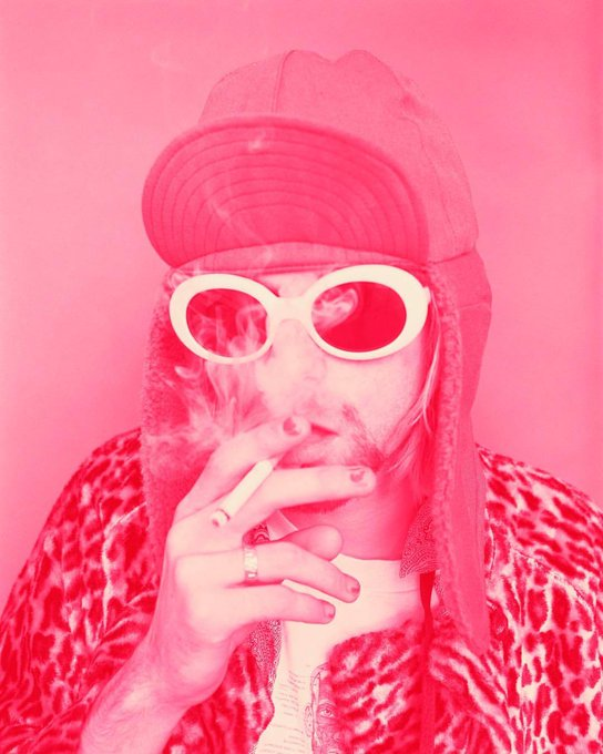 "Happy   Birthday Kurt Kurt Cobain November 1993 by Jesse Frohm \""Come as You Are\"""