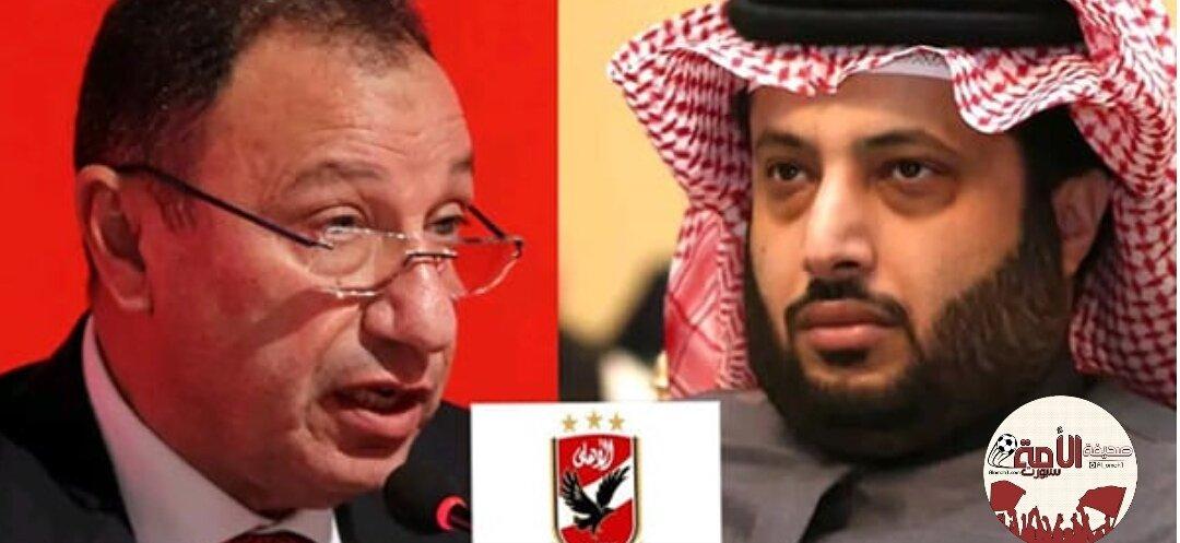 أيادي تركي آل الشيخ البيضاء تمتد للأهلي...