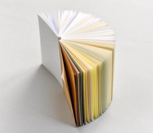 1冊のメモ帳に55種類の紙 「55メモ帳」がクラウドファンディング開始 http...