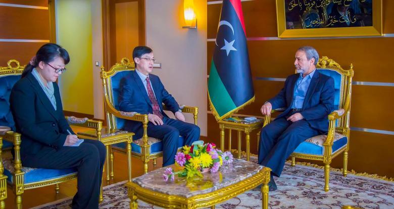 #الصين مستعدة لدعم #ليبيا اقتصادياً.. وت...