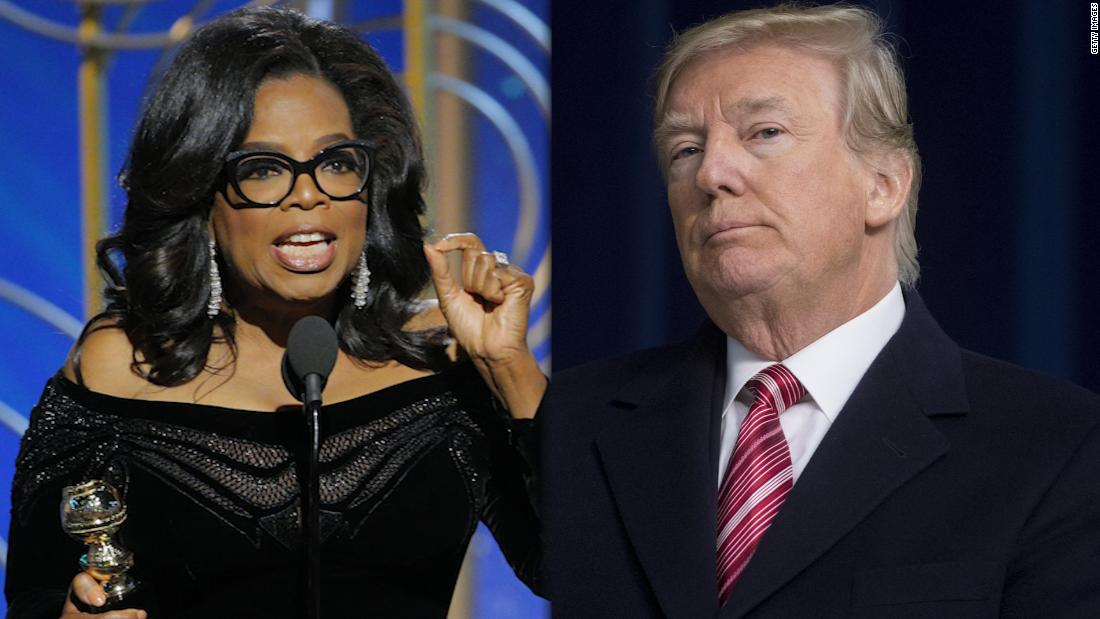 President Trump slams Oprah: Just watched a very insecure Oprah Winfrey, who at one point I knew very well, interview a panel of people on 60 Minutes cnn.it/2GqFwKA