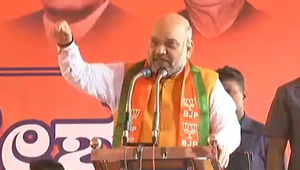 This is an election not only related to the state but the interests of the entire nation. In this election a govt will come in Karnataka which will open doors to the South for us: Shri @AmitShah LIVE at  https://t.co/nmCGfNnxtf #ShahInKaravali