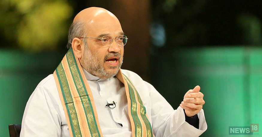 #BattleForKarnataka  -- If one wants to maintain the flow of development one has to remove corruption from its system which the Siddaramaiah government is incapable of: BJP President Amit Shah  (File Image)