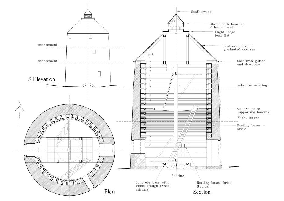 Wall Mounted Dovecote Plans Fantail Dove Cote Robinson