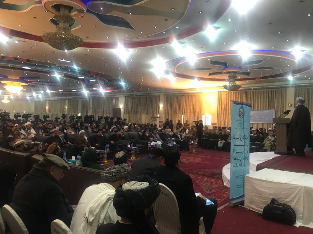 #National_Conference: Presence of @ashrafghani the president of Islamic Republic of Afghanistan in such a critical situation at HPC and providing assurances for continuation of negotiations, is demonstrating the commitment of the government for peace. Chairman Khalili