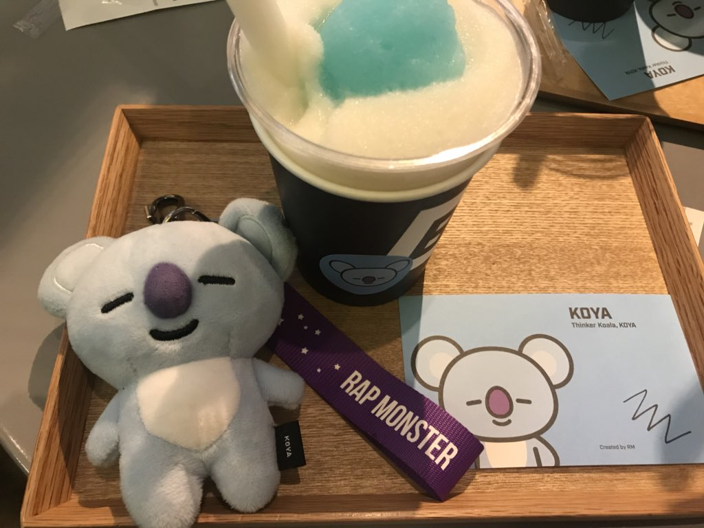 Delish Koya @BT21_ https://t.co/qiN89Z2l...