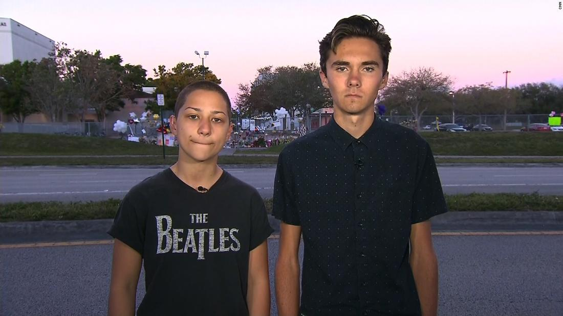 Two survivors of the Parkland, Florida, school shooting slam politicians responses to the massacre, calling them disgusting and pathetic cnn.it/2Hw6DVB