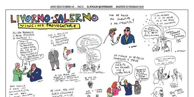 Da Livorno a Salerno, nel Foglio di oggi...