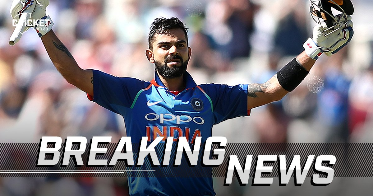 JUST IN: Virat Kohli has officially been rated one of the best ODI batsmen of all time https://t.co/b19Q07JHMg #SAvIND