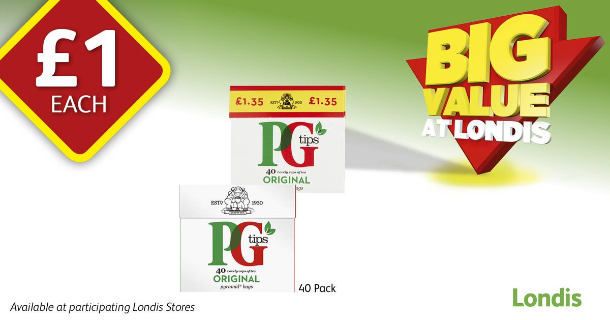 How do you make your perfect cuppa? ☕👌  @PGtips 40pk now £1 at your local @myLondis
