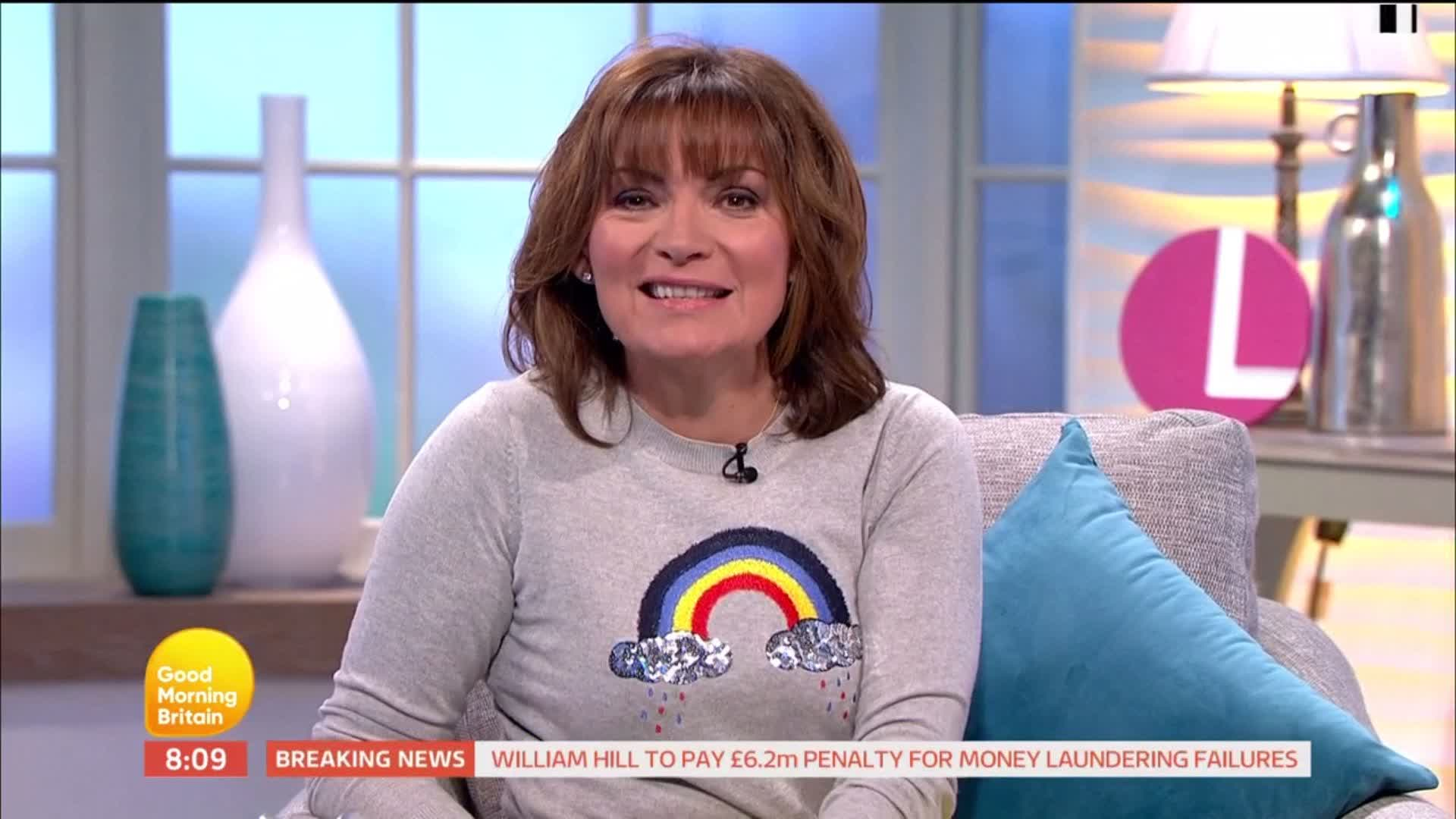 RT @GMB: Oh yes, we're loving your jumper @ITVLorraine! 😀 https://t.co/NI7zRTuqCM
