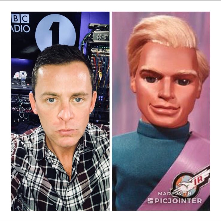 Current show discussion @BBCR1 do I look like a thunderbird? Yes or no? https://t.co/tmkI7Ony2U