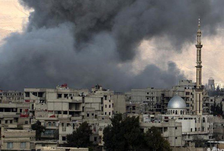 'Doğu Guta'da 77 sivil yaşamını yitirdi'...