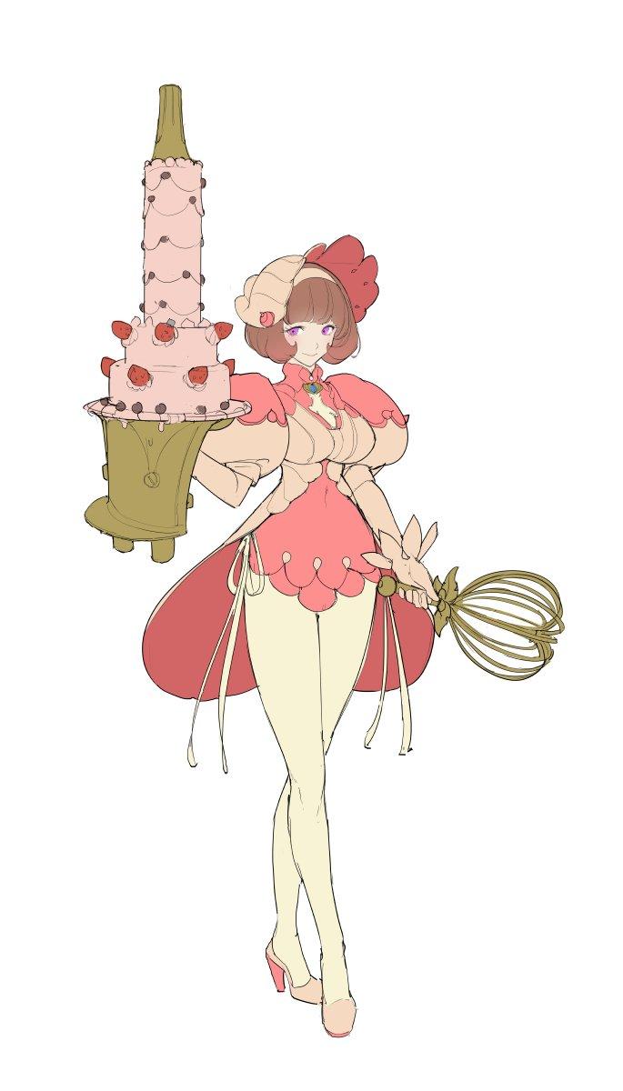 Pastry queen, level boss.