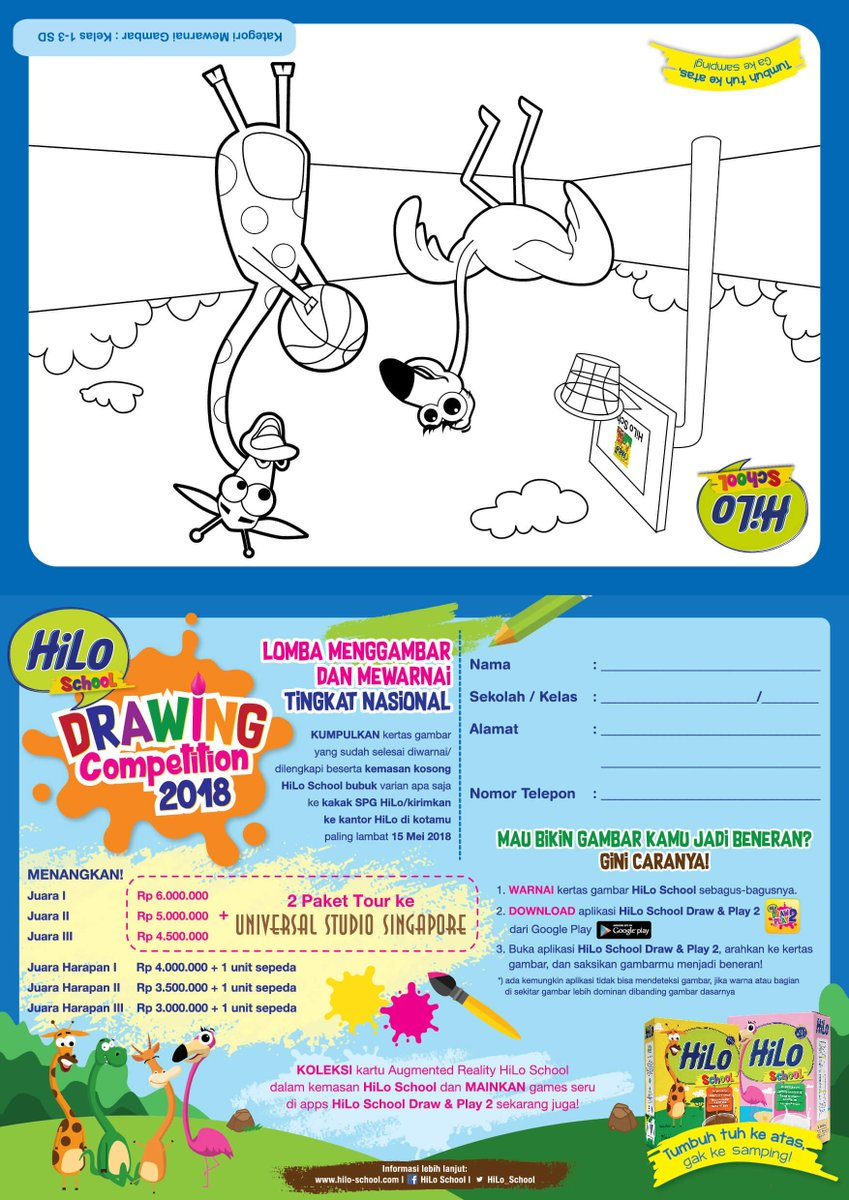 Info Www Hilo School Com Event Hilo School Drawing Competition  Tingkat Nasional Pic Twitter Com Pxicpjykq