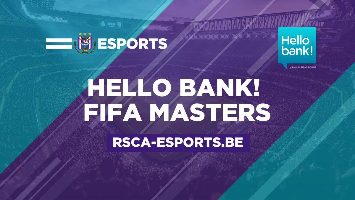 Aimeriez-vous défier le #RSCA, Manchester City, le PSG, Leverkusen et d'autres gros clubs? Réservez alors vite votre place pour les qualifications des Hello bank! FIFA Masters sur https://t.co/DDqt8lXo4T! Attention, le nombre de places est limité! 🎮 ⚽️ #RSCAesportse#eSportssports