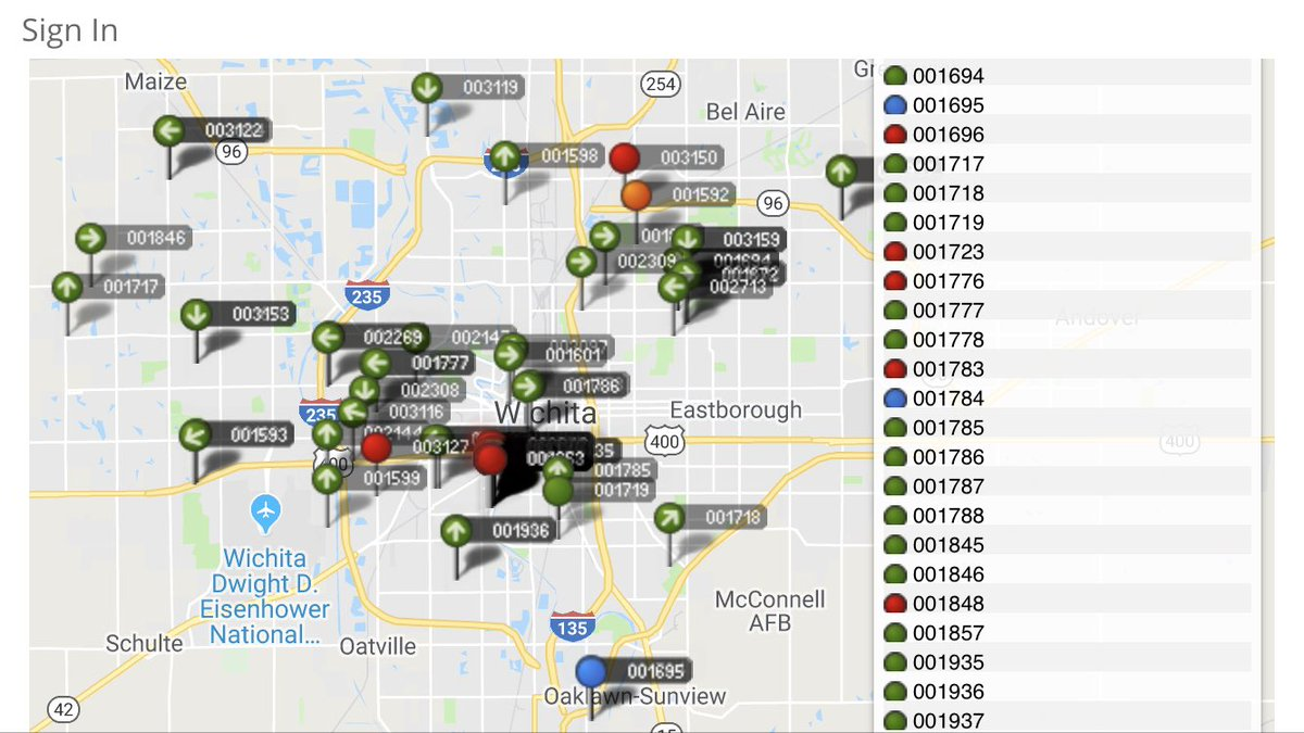 Amanda aguilar ksn on twitter driving around wichita and ive amanda aguilar ksn on twitter driving around wichita and ive noticed a lot of treatment trucks on the roads cityofwichita map shows theyre out in full freerunsca Images