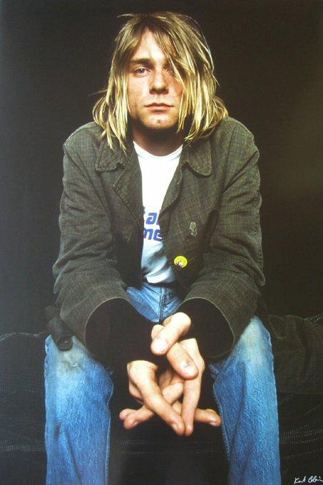 Happy birthday to the last true rock star, lead singer of Nirvana...Kurt Cobain (R.I.P)