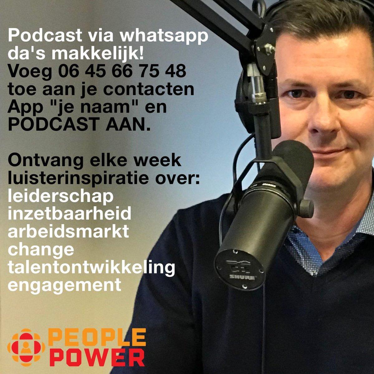 test Twitter Media - Onze verse #podcasts direct op jouw smartphone? Meld je aan voor onze #Whatsapp service! https://t.co/dcK6jpJWx3 #podcast #hr #people #leiderschap https://t.co/VxNCutPIlQ
