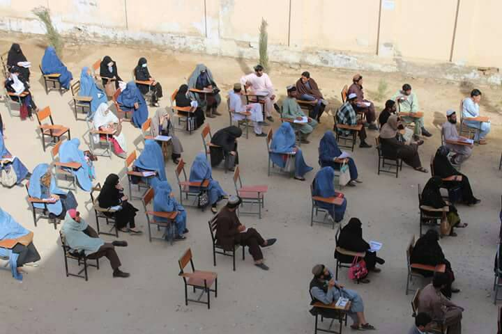 To those who say in a conflicted effected Prov like Helmand there are no qualified pple &women will not be allowed to join public offices, these young men & women proved them wrong. All they need is an equal opportunity. 4500 contestants, 700 female. Minim a BA dgree 376 positons