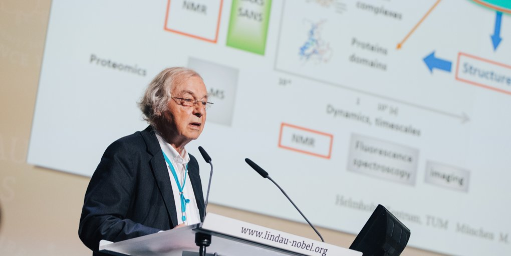 test Twitter Media - Happy birthday to #NobelLaureate Robert Huber! Our good friend has joined us in #Lindau 21 times since co-receiving the 1988 @NobelPrize. At #LiNo17, he talked about his experience with protein structures in translational medicine and business development https://t.co/j7WTkqBKLv https://t.co/W30jCAuhgI