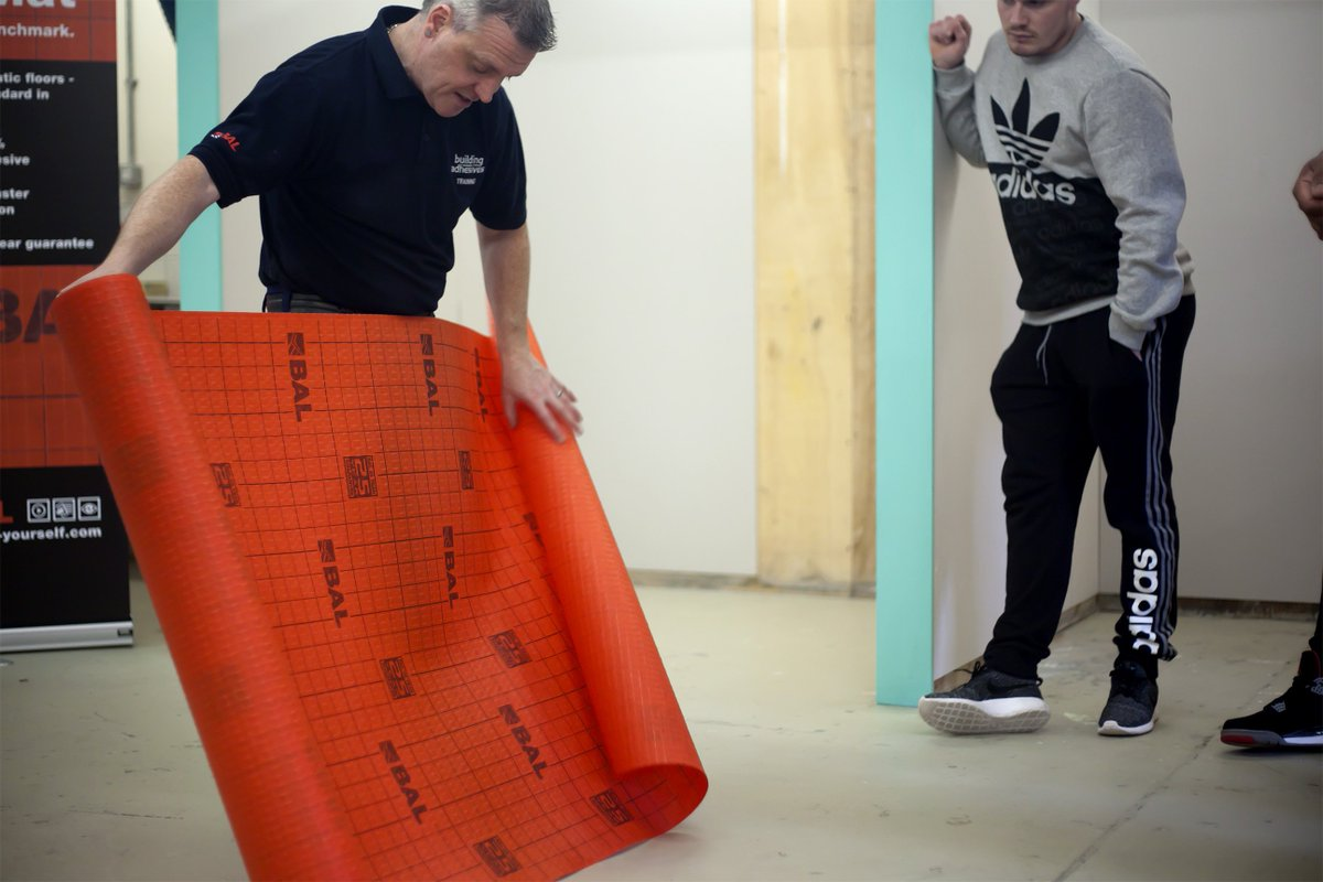 Bal tiling baltiling twitter includes practical training and presentations httpsbal adhesives eventbal training masterclass preparing and tiling wetrooms 2 dailygadgetfo Gallery