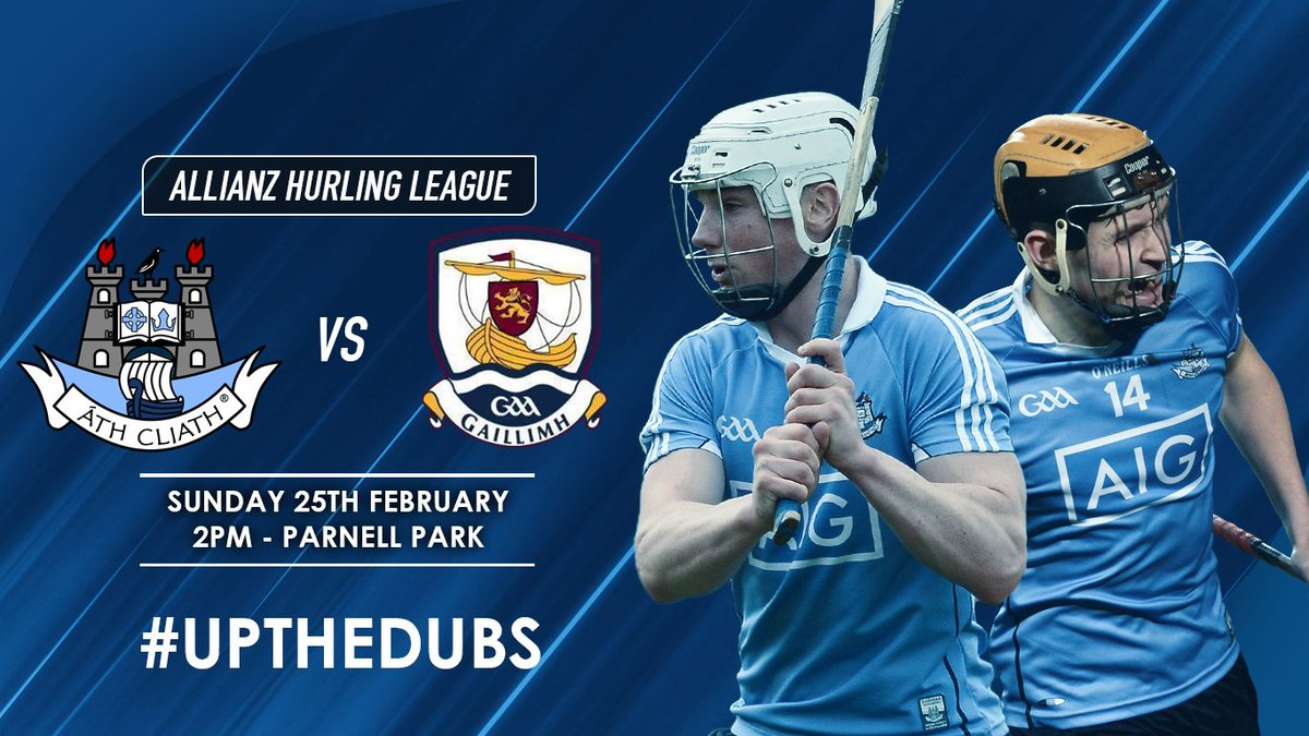 test Twitter Media - Our Senior Hurlers will take on @Galway_GAA this Sunday in Parnell Park, see link for ticket information 🎫🎫 IMPORTANT NOTE: All Parnell Pass holders must exchange their pass for a match ticket in advance, more in link #UpTheDubs ➡️ https://t.co/wnHcUIzfO9 https://t.co/cDEJBaT57L