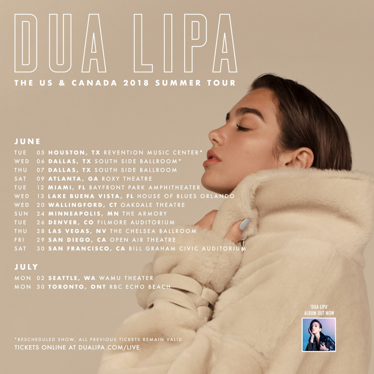 MORE TOUR!! US Tour! Tickets on sale thi...