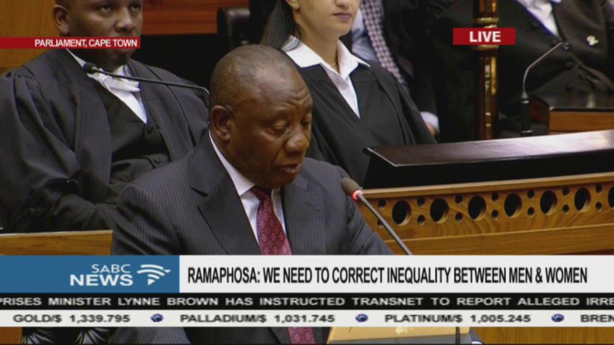 Ramaphosa on the Marikana tragedy #SONAR...