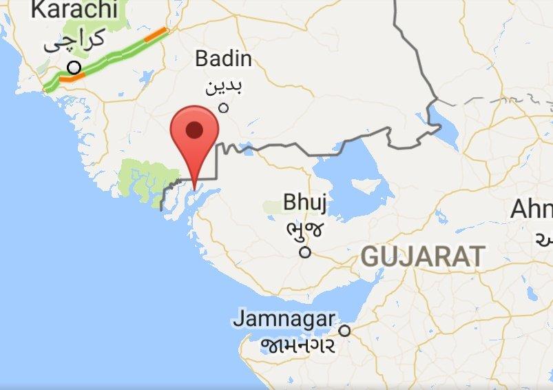 BSF nabs a big Pakistani fishing boat in creek area adjoining Kutch district of Gujarat