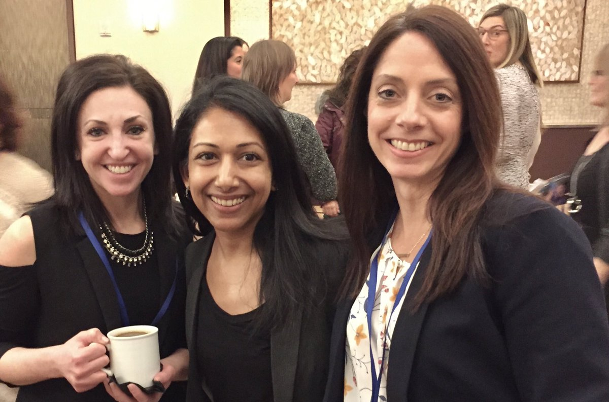 Fun @MarchComms reunion at the #In2SummitNA last week in NYC. @bethbrenner @cagale @holmesreport<br>http://pic.twitter.com/bS9zQ242Mr