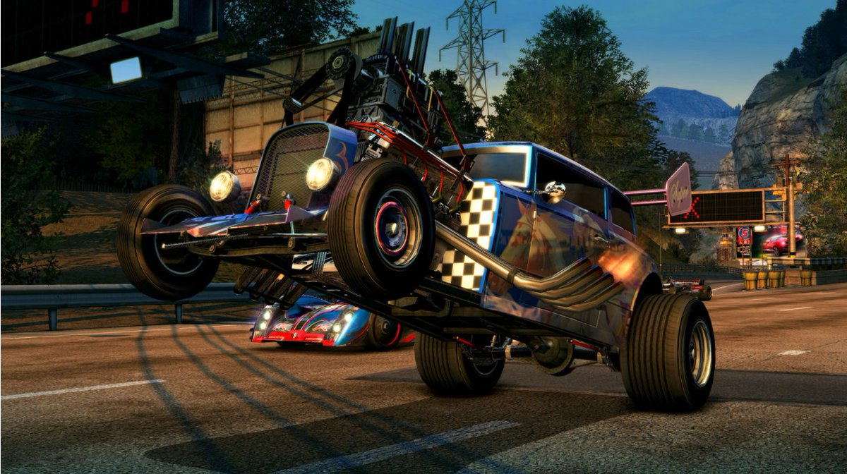 Burnout Paradise Remastered includes all the Year of Paradise DLC, the Big Surf Island update, AND its in gorgeous 4K at 60FPS on PS4 Pro.  🚗🔥 play.st/2Gx3V15