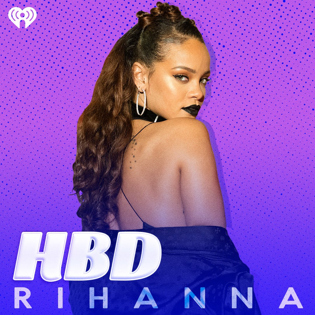 Happy 30th birthday to the queen, @rihanna! 👑💜