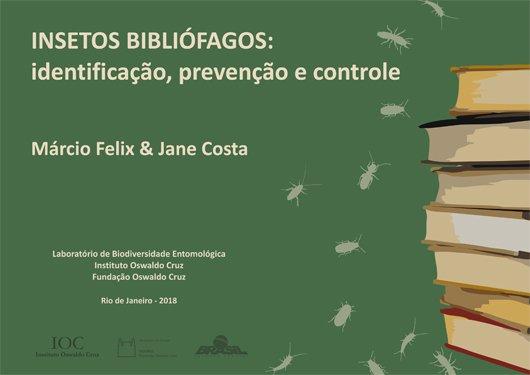 Cartilha da @fiocruz auxilia no controle de insetos bibliófagos, responsáveis por danos em livros, bibliotecas e acervos históricos https://t.co/stmrvdxOig