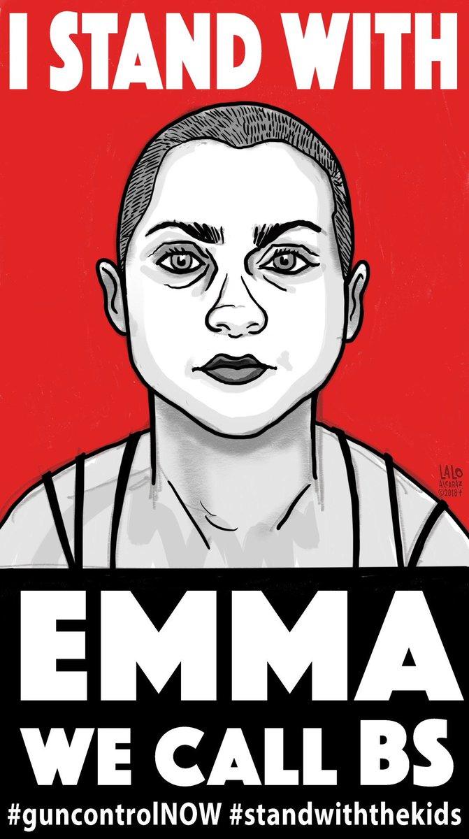 #EmmaGonzales #GunControlNow https://t.c...