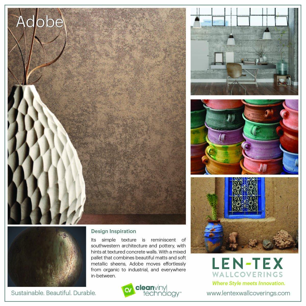 Industrial Style Len len tex wallcovering lentexcorp