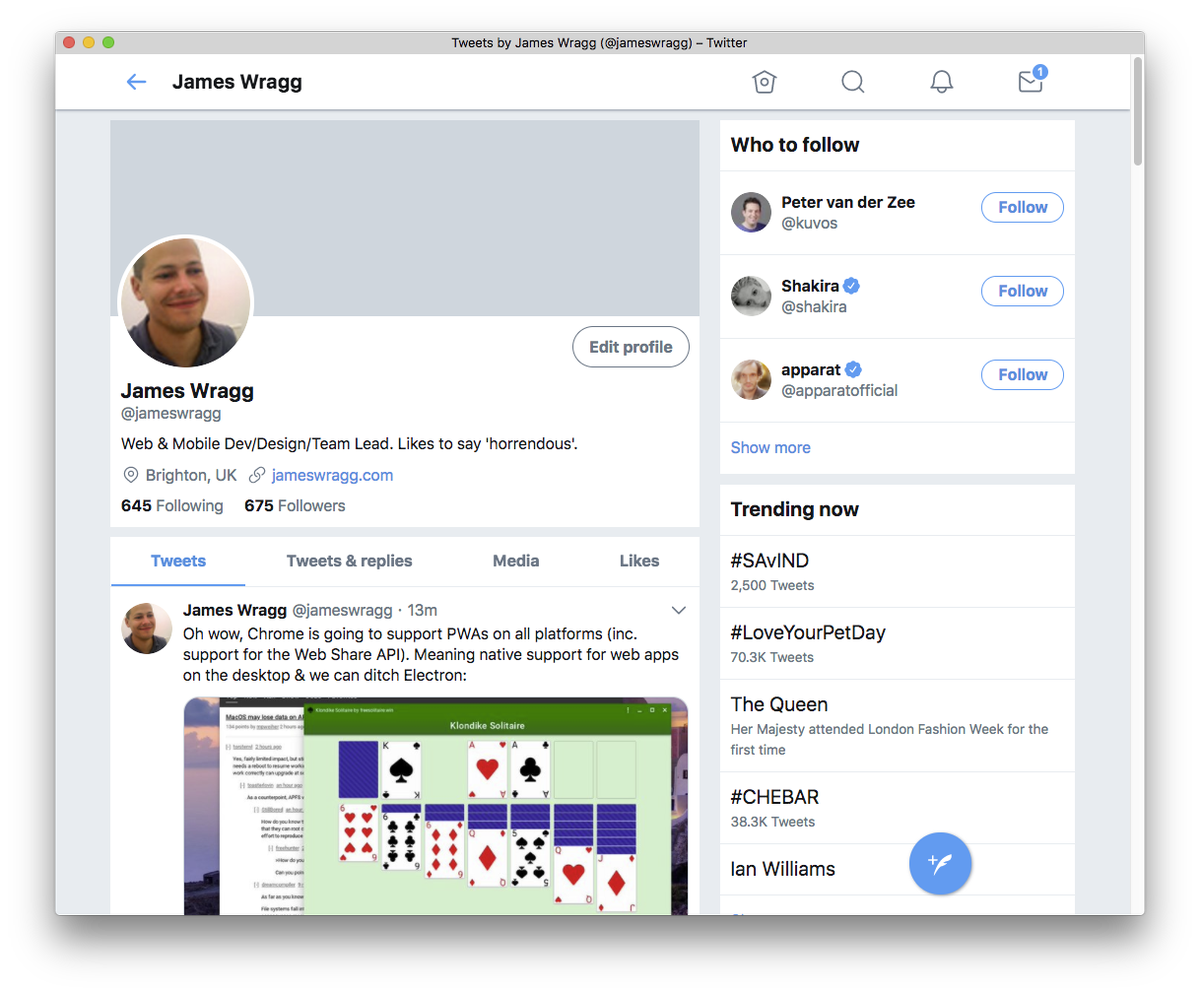 James Wragg on Twitter: