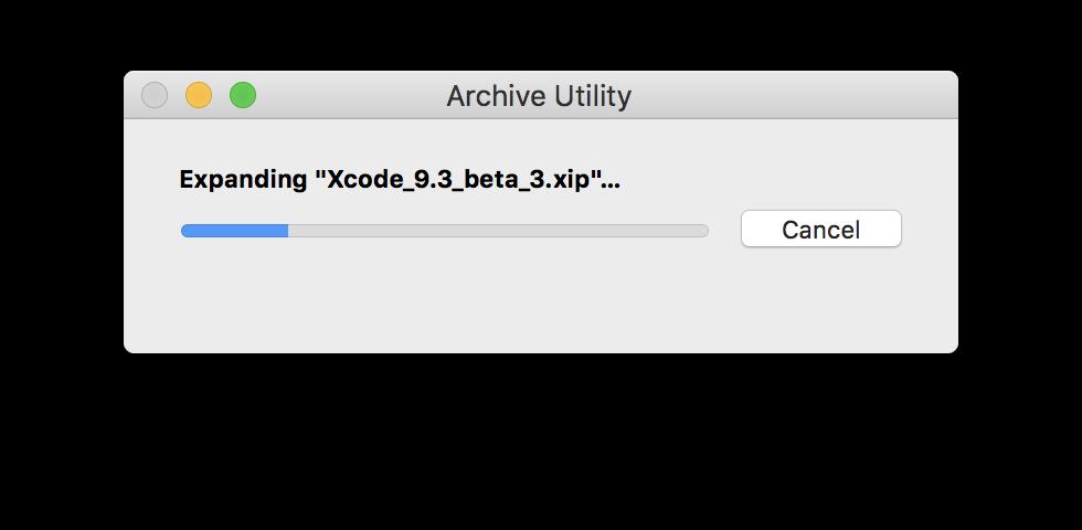 xcode 9.3 beta 2 download