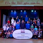 """HALF TERM   """"BE THE BEST YOU CAN BE!""""  From the whole team at the Foundation we thank partners @FWPGroup for their continued support with our popular half term camps!"""