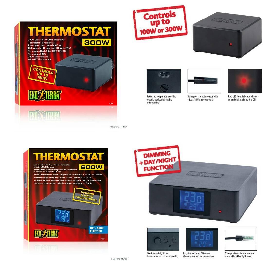 Exo Terra Exo Terra ON//Off Electronic Thermostat 300 W