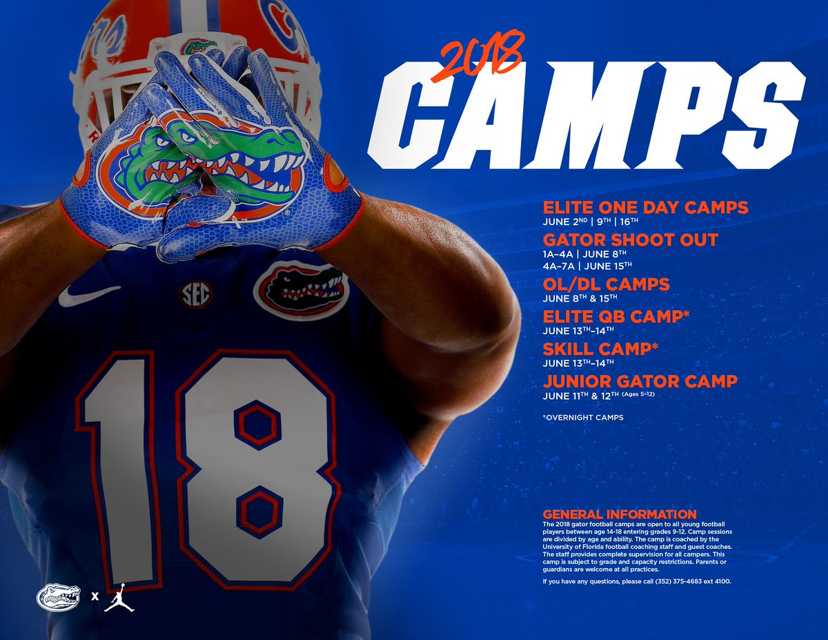 Dan Mullen On Twitter Save The Date For Our 2018 Florida Football