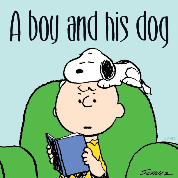 The love between a boy and his dog. #LoveYourPetDay