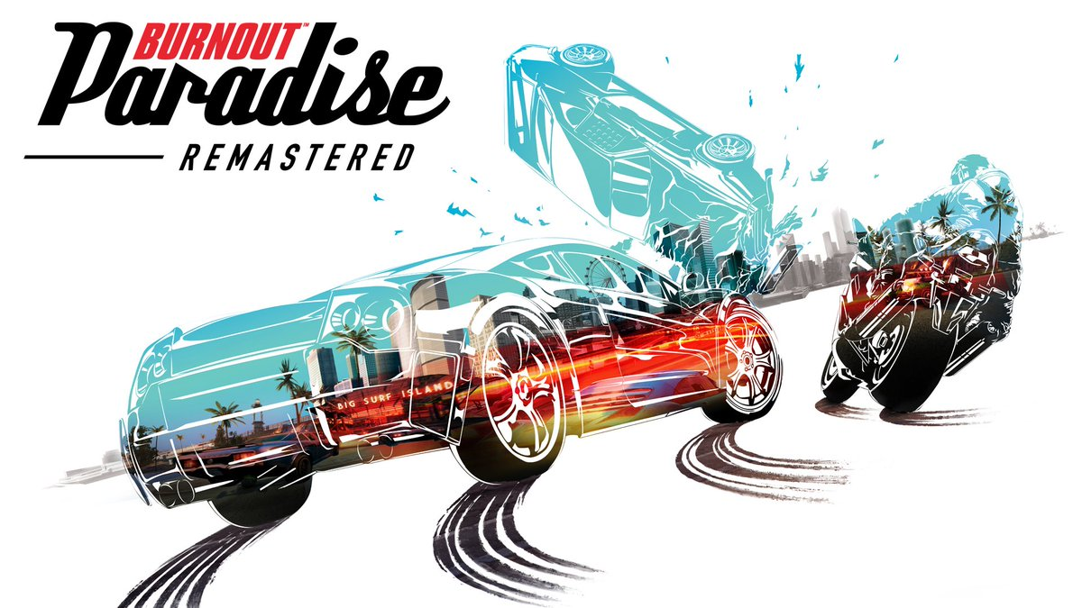 🎵 Take us down to the Paradise City, where the grass is Remastered and the game looks pretty...🎵  Burnout Paradise Remastered arrives March 16th.