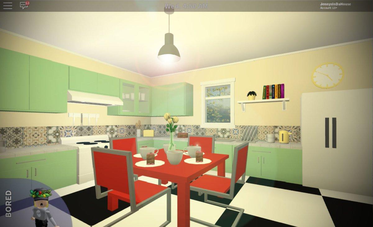 Jennysindahouse On Twitter Cute Little 1950 S Style Kitchen I