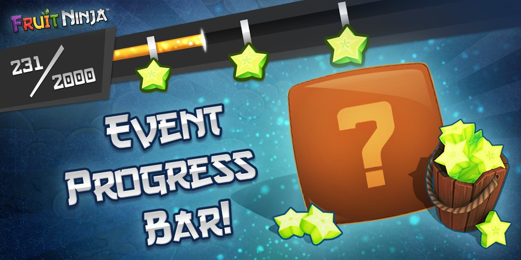 Have you played Fruit Ninja's Chinese New Year event yet? Fill up the event bar for awesome prizes! 🎁 https://t.co/RXMrbxTr94 https://t.co/1ILXNjf6qw