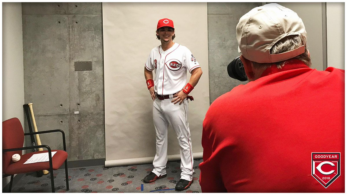 .@Sgennett2 looking good with his new nu...